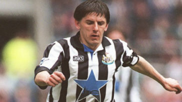 Peter Beardsley Newcastle United Premier League 90s