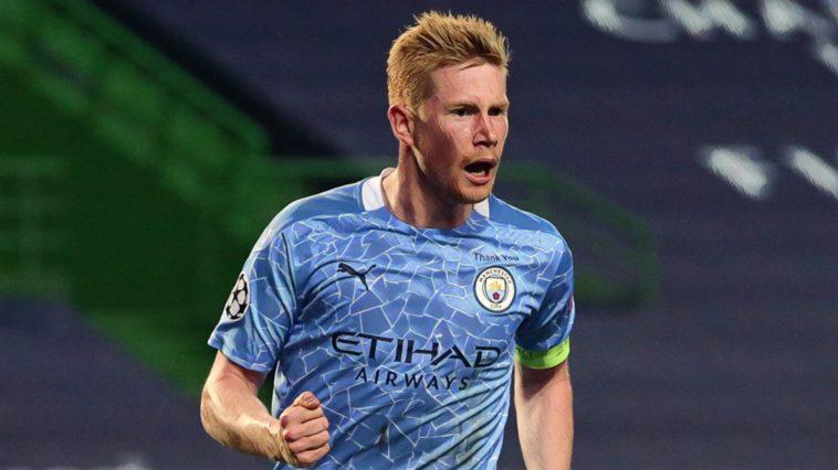 Kevin De Bruyne Man City Premier League