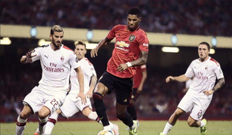 Manchester United AC Milan Europa League
