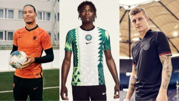 best international football kits germany nigeria italy netherlands