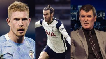 premier league weekly awards bale de bruyne redknapp keane