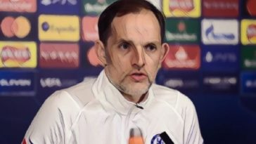 Tuchel press conference champions league