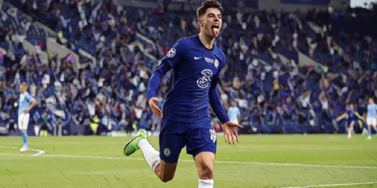 havertz nets for chelsea against man city in the champions league final