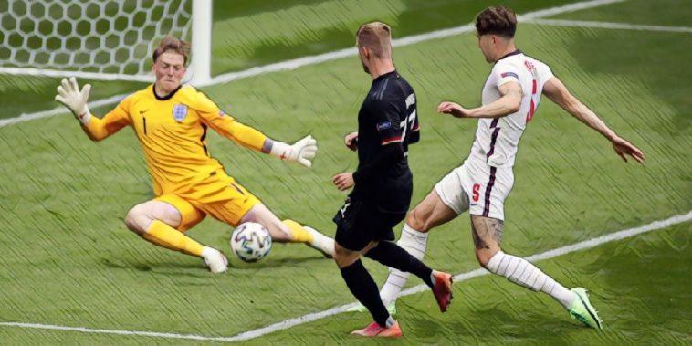 Pickford save England