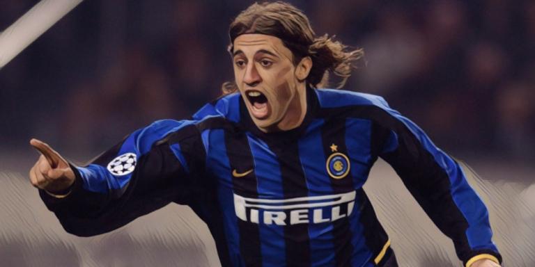 Hernan Crespo banging them in for Inter Milan