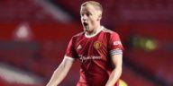Manchester United's Donny van de Beek 2021