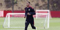 marcus rashford in manchester united training