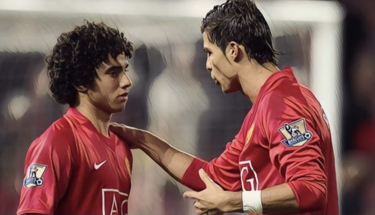 Fabio da Silva and Ronaldo