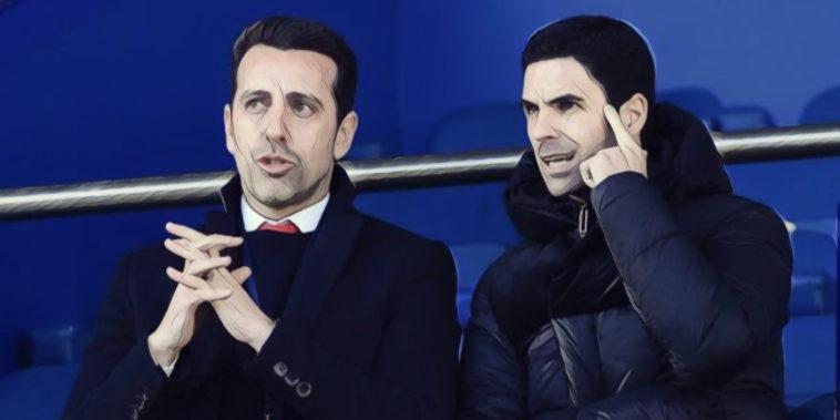 Edu and Arteta Arsenal