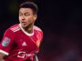 manchester united midfielder jesse lingard in the carabao cup clash against west ham