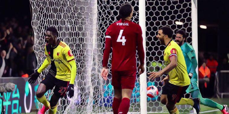 watford end liverpool's unbeaten run with a sensational 3-0 win