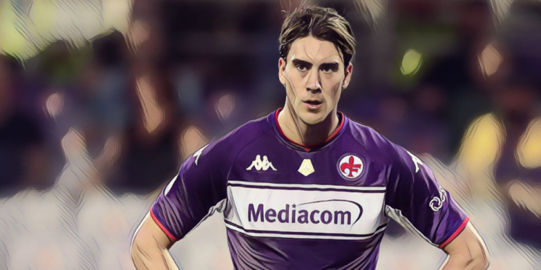 fiorentina striker dusan vlahovic is wanted by a number of premier league clubs