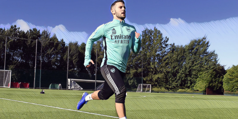 jack wilshere back in training with arsenal